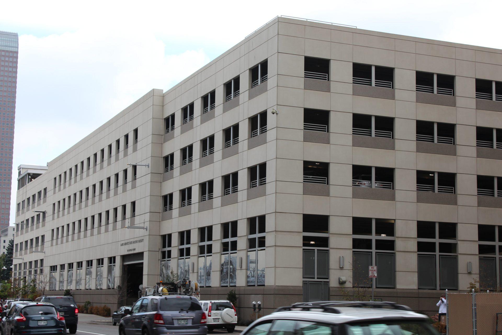Colorado Judicial Parking Garage
